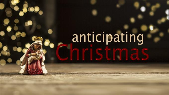 'Anticipating Christmas' - Isaiah 11: 1-10